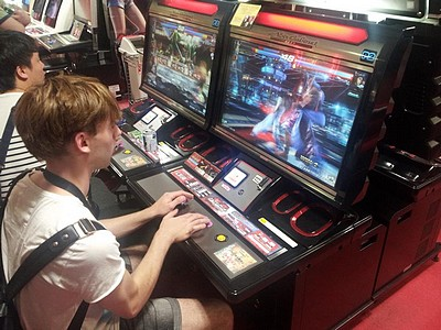 2. Szymon  Tekken w Game Center 400