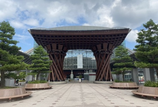 Ekspresyjny dworzec Kanazawa