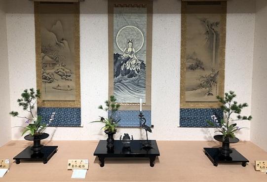 Ikenobo ikebana w odniesieniu do krajobrazu